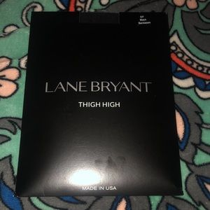 NWT Lane Bryant Thigh Highs Size E/F